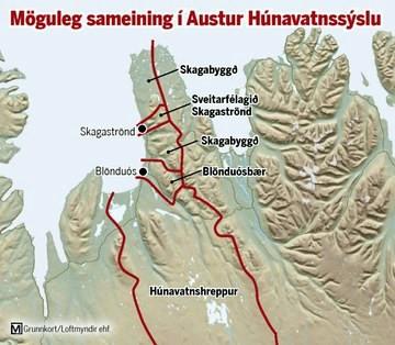 Skagabyggð verður með í sameiningarviðræðum í Austur-Húnavatnssýslu