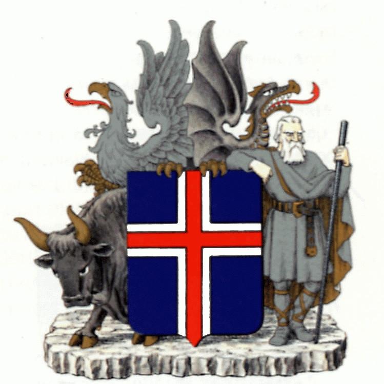 герб исландии фото подчеркнул, что будущем