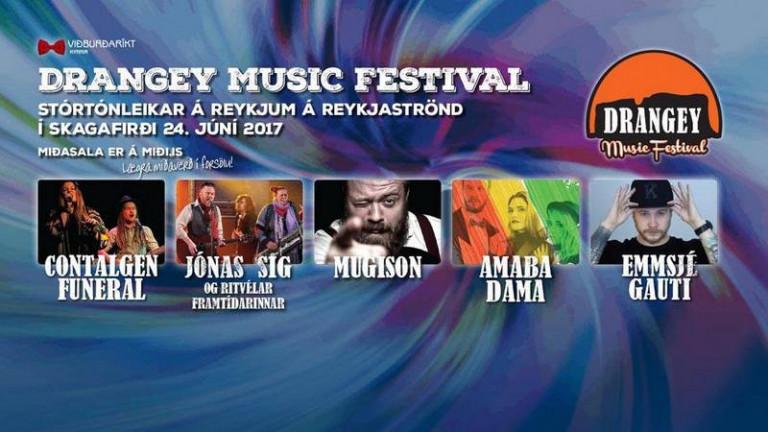 Drangey Music Festival í kvöld